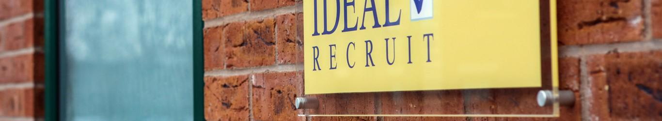 ideal recruit recruitment logo 2