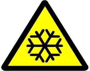 Cold Hazard Icon