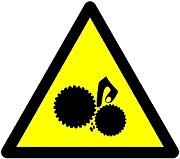 Finger Trap Hazard Icon