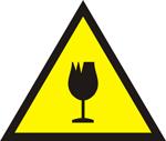 Glass Hazard Icon